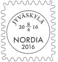 NORDIA 2016 -erikoisleima